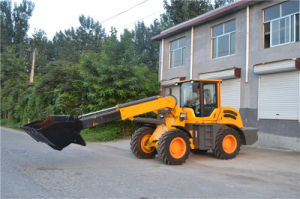 China 2500kg Telescopic Wheel Loader with Ce pictures & photos