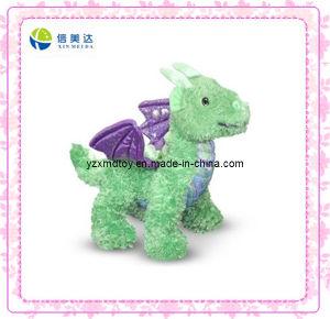 Plush Green Dinosaur Stuffed Toys pictures & photos