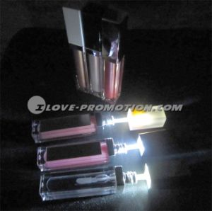 LED Lip Gloss with Mirror Light up Lip Gloss