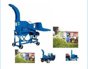 Grass Straw Stalk Shredder Chopper Cutting Chaff Cutter Machine (WSZ) pictures & photos