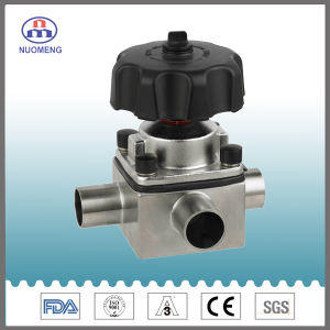 Forge Three-Way Welded Diaphragm Valve pictures & photos