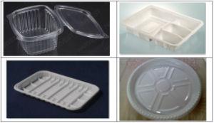Popcorn/Tea/Coffee/Milk Plastic Cup Lid Forming Machine (PPBG-500) pictures & photos