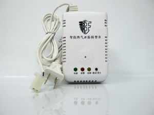 Home LPG Gas Alarm with Solenoid Valve for Kitchen Security pictures & photos
