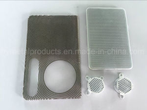 Customized Perforated Stainless Steel Speaker Mesh for Audio with Black Coating pictures & photos