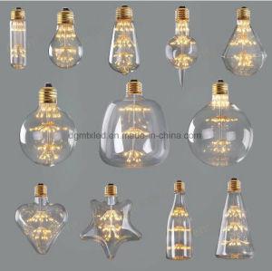 LED border lights bulb, filament diode electric moon decorative bulb pictures & photos