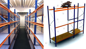 Medium Duty Racking for Storage pictures & photos