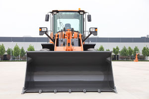 Low Price Brand New Articulated 3ton Front Loader for Sale pictures & photos