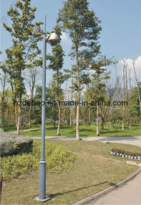 ISO Certificate Galvanized Steel Camera Pole