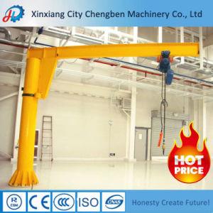 Workshop Light Duty Hoist 10 Ton Slewing Column Jib Crane pictures & photos