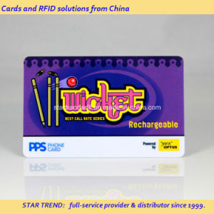 PVC Card with Magnetic Stripe for Rechargeable Phone Card pictures & photos