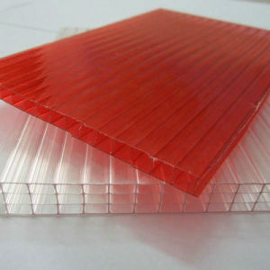 Anti-UV Multiwall Hollow Plastic PC Polycarbonate Sheet pictures & photos