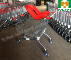 Shopping Trolley with Soft Baby Seat pictures & photos