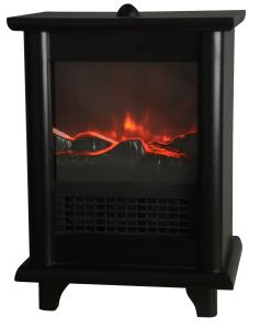 Home Appliance Electric Fireplace with Wooden Frame pictures & photos