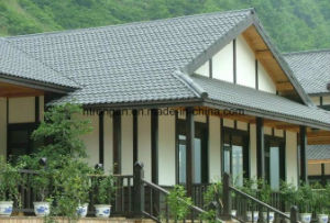 Type PVC/ASA Synthetic Resin Roof Tile pictures & photos
