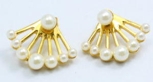 Fashion High Quality CZ Stones Jewelry 316L Stainless Steel Earring pictures & photos