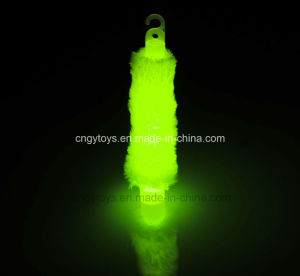 Glow in The Dark Light Stick with Fur and Lanyard pictures & photos