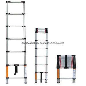 Aluminum Ladder Aluminium Alloy Extrusion Profile for Door and Window 02 pictures & photos