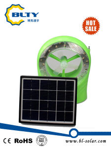 DC Rechargeable Solar Table Fan pictures & photos