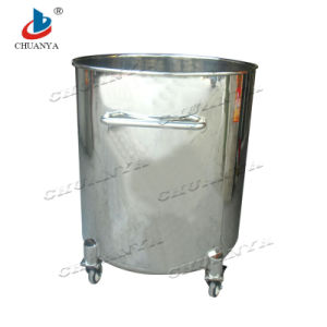 Stainless Steel Polished Mobile Storage Tank pictures & photos