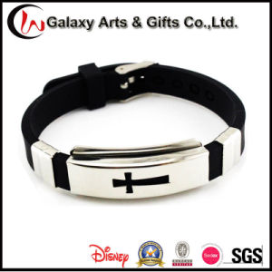 2017 Trending Products Metal Bracelet 100% Silicon Wristband Stainless Steel Bangle pictures & photos