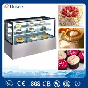 Commercial Showcase Cake Display Cooler, Bakery Fridge and Pastry Display Cooler