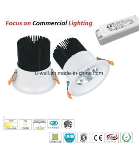 Wholesale New Round 2- 8 Inch COB 30W Ceiling LED Downlight pictures & photos