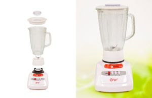 1400ml Glass Jar Vegetable Chopper Electric Blender Manufactory Kd318 500W pictures & photos
