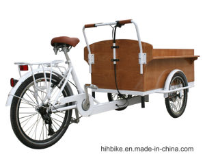 Adult Pedal Trike with Battery Drive System pictures & photos