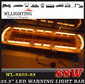 Amber Cover 47inch LED Lightbar with Spotlights for Public pictures & photos