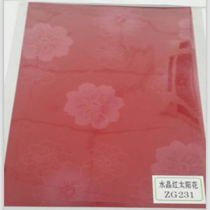 Flower Pattern VCM Steel Sheet for Refrigerator Door pictures & photos