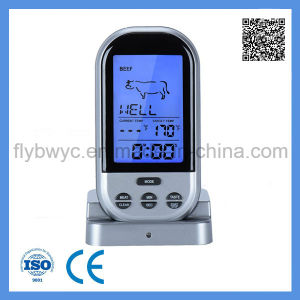 Digital Wireless BBQ Thermometer for Food Meat Kitchen Oven Thermometer with 2 Probes pictures & photos