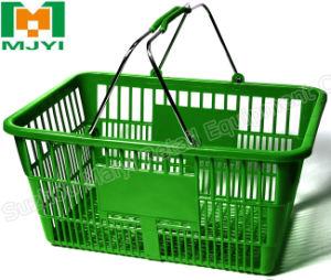 Shopping Basket Metal Handle Supermarket Basket pictures & photos