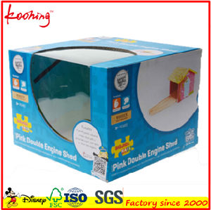 Custom Color Printed Toy Packing Packaging Folding Corrugated Box with Window pictures & photos