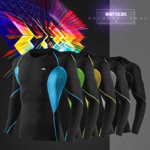 Men′s Dry Fit T-Shirt Compression Clothes pictures & photos