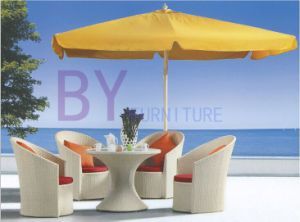 White Outdoor Garden Patio Furniture with 4 PCS Chairs pictures & photos