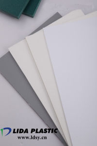 PVC Grey Ral7011 Sheet pictures & photos