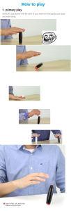 Wood Fidget Hand Spinner Flip Stick Toy pictures & photos
