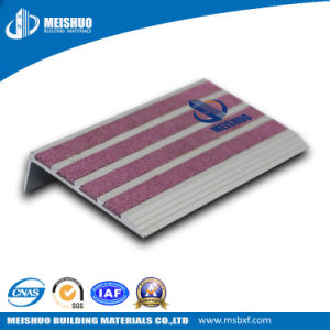 Anti Slip Aluminum Step Treads with Carborundum Insert pictures & photos