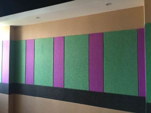Ceiling Board High Density Sound Absorbing Wall Panel pictures & photos