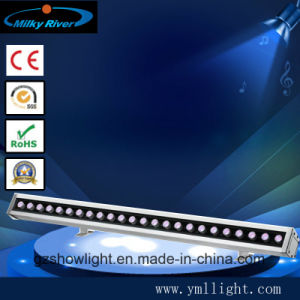 24PCS 3W RGB 3in1 LED Wall Washer Light Outdoor waterproof Washer Light pictures & photos