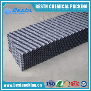 Ladder Shape PVC Cooling Tower Infills for Packing Media Plastic Sheets Pack pictures & photos