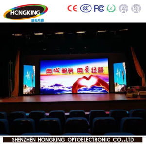 Slim Aluminum Indoor P3.91 Full Color LED Display Screen (500X500mm) pictures & photos