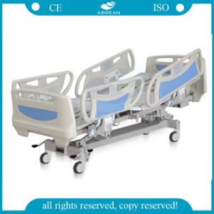 AG-By003c CPR High Quality Multifunction Bed ICU Electric Tilting Five Functions Electric Beds pictures & photos