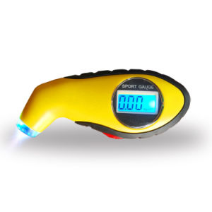 Universal Digital Sport Tire Gauge Portable LCD Display Tire Pressure Gauge pictures & photos
