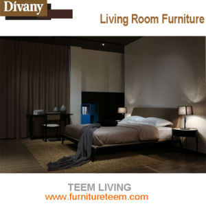 Teem Upholstered Luxury King Size Bed pictures & photos