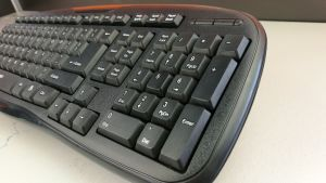 Factory Slim Home Office Computer Wired Keyboard pictures & photos
