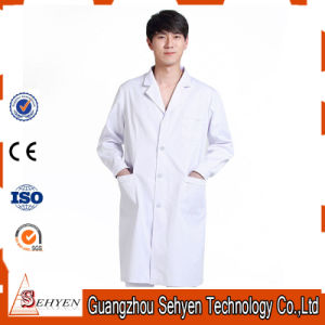 35%Cotton and 65%Polyester White Lab Coat Unisex Medical Lab Coat pictures & photos