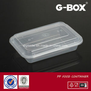 PP Microwaveable Food Container with Lid pictures & photos