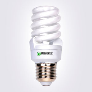 Energy Saving Bulb Full Spiral T2 15W with Ce&RoHS pictures & photos