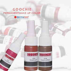 Goochie Permanent Makeup Tattoo Ink pictures & photos